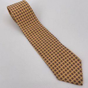 Polo By Ralph Lauren Silk Yellow Retro Tie